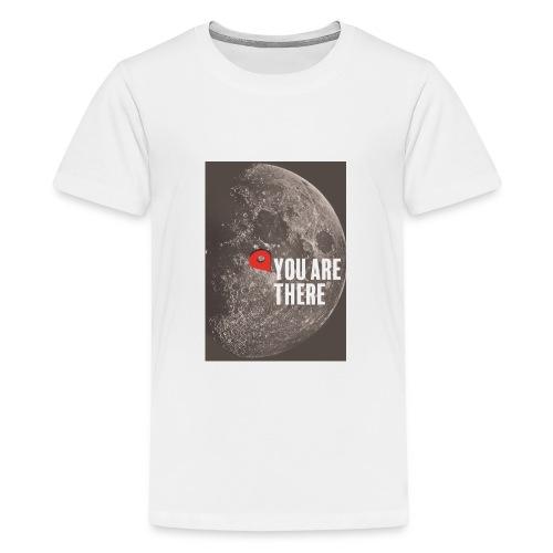 Dans la lune - T-shirt Premium Ado