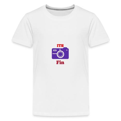 The logo stretch - Teenage Premium T-Shirt