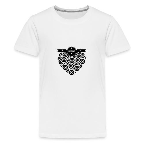 COEUR VINYL VINTAGE - T-shirt Premium Ado