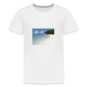 plage-ile-maurice - T-shirt Premium Ado