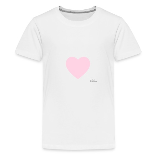 Oberteile mit Rosa herz | XxKeksixX - Teenager Premium T-Shirt