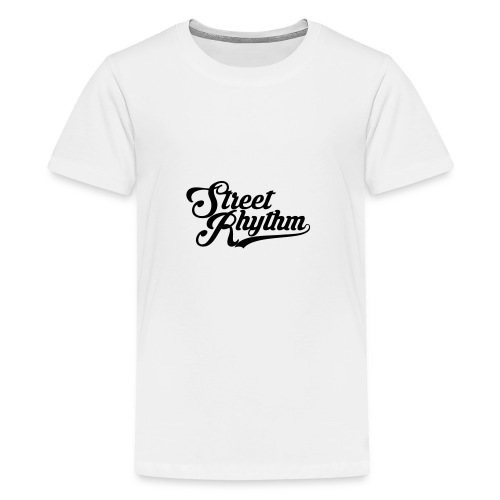 StreetRhythm black - Teenager Premium T-Shirt
