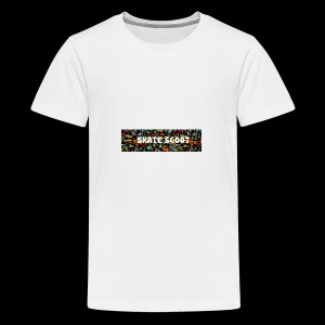 funny logo - Teenager Premium T-shirt