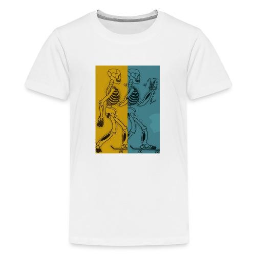 Esqueleto skater: You are my structure! - Camiseta premium adolescente