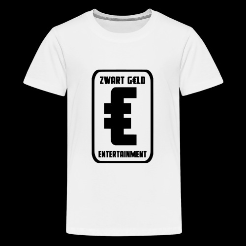 ZwartGeld Logo Sweater - Teenager Premium T-shirt