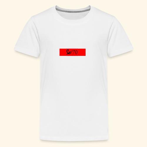 Red Sg170 - Teenage Premium T-Shirt