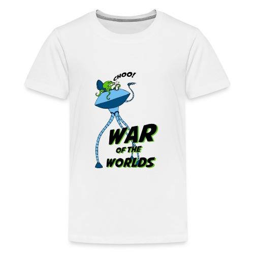 The War of the Worlds - Camiseta premium adolescente