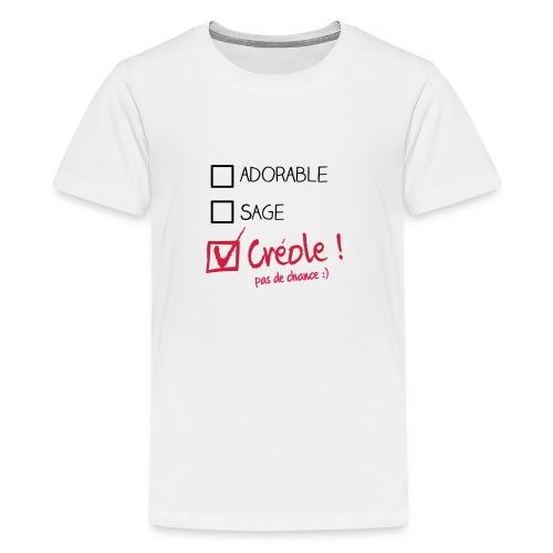 kreol mieux que parfait enfant - T-shirt Premium Ado