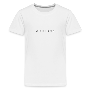coolguy Collection - Premium T-skjorte for tenåringer