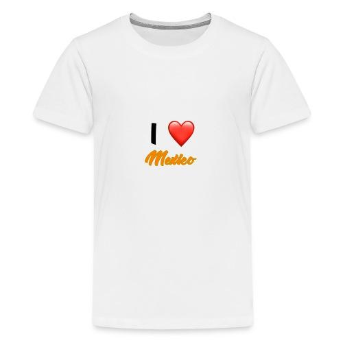 I love Mexico T-Shirt - Teenage Premium T-Shirt