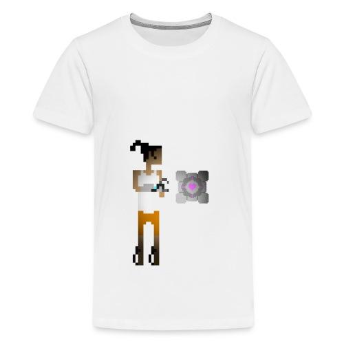 chell 2D - Teenager Premium T-shirt