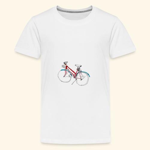 Bicycle Lovers - Teenager Premium T-Shirt