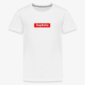 | KeksKuchen Merch | SupKeks - Teenager Premium T-Shirt