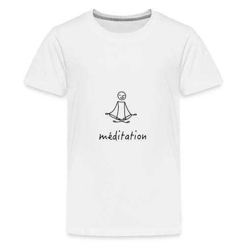 Méditation - T-shirt Premium Ado