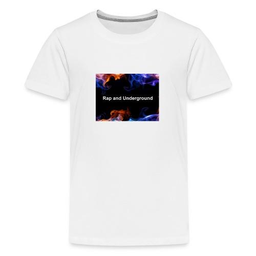 Rap and underground logo - Teenager Premium T-Shirt