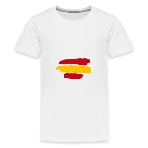 Bandera España - Camiseta premium adolescente