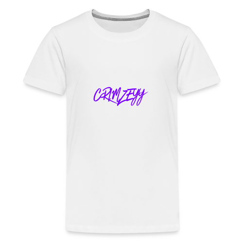 Brush Crimzeyy - Teenage Premium T-Shirt