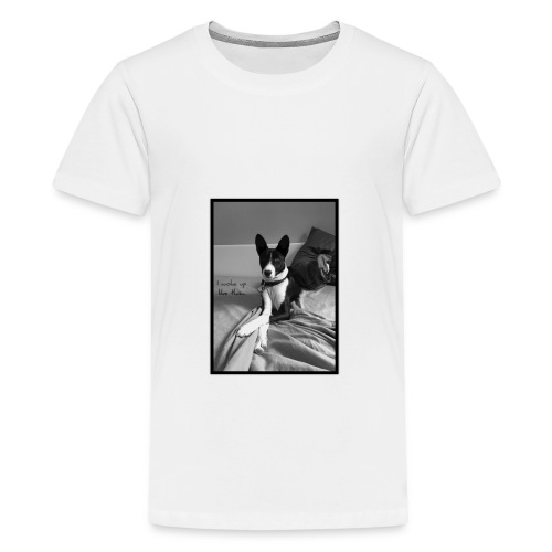 Piratethebasenji - T-shirt Premium Ado