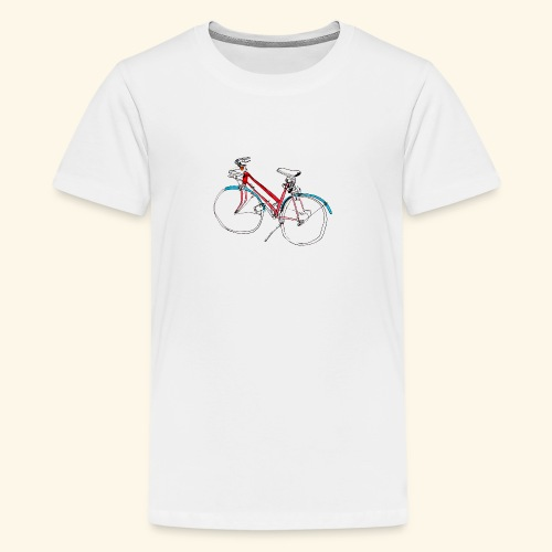 Bicycle Lovers - Teenager Premium T-Shirt