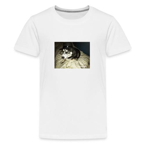 Husky möchte auch süßes oder saures - Teenager Premium T-Shirt