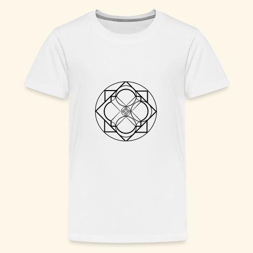 Art 2 Trapped Freedom - Teenager Premium T-shirt