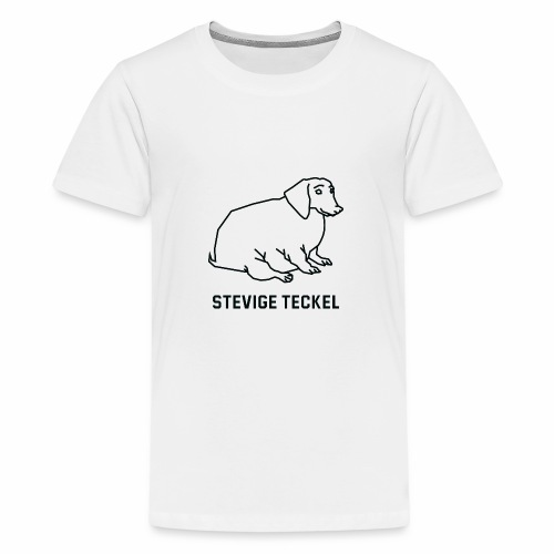 Stevige Teckel - Teenager Premium T-shirt