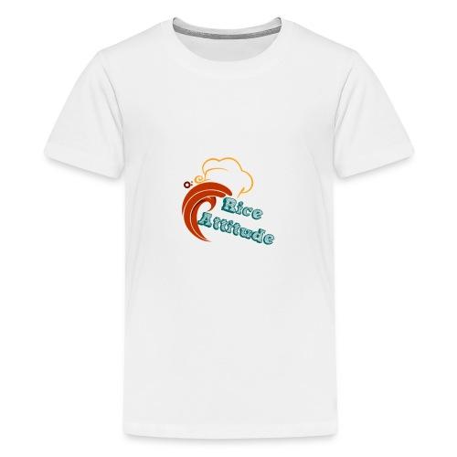 T Shirt Rice Attitude - T-shirt Premium Ado