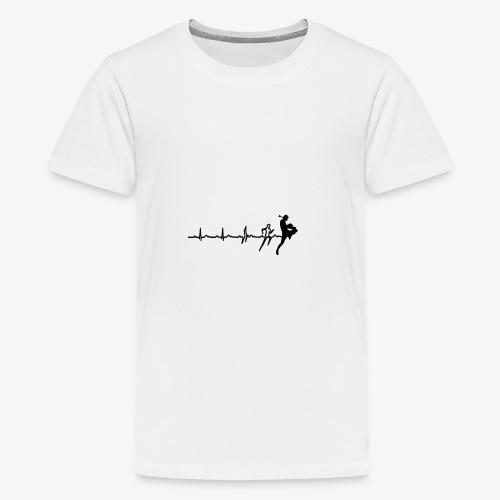 Life of a nakmuay - Teenager Premium T-Shirt