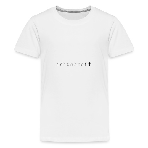 dreamcraft script - Teenager Premium T-shirt