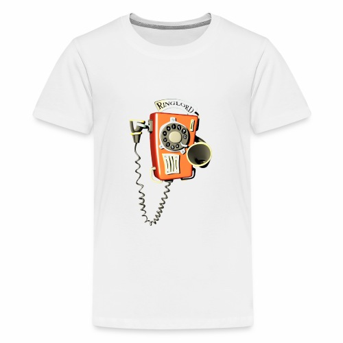 Ringlord Telefon Wandtelefon - Teenager Premium T-Shirt