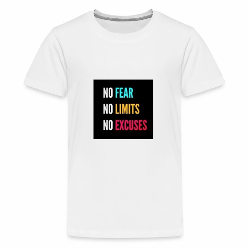NO FEAR - Premium-T-shirt tonåring