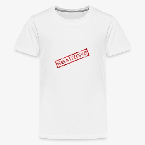 Grauzone - Teenager Premium T-Shirt