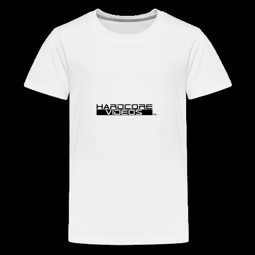 Hardcorevideos.nl logo - Teenager Premium T-shirt