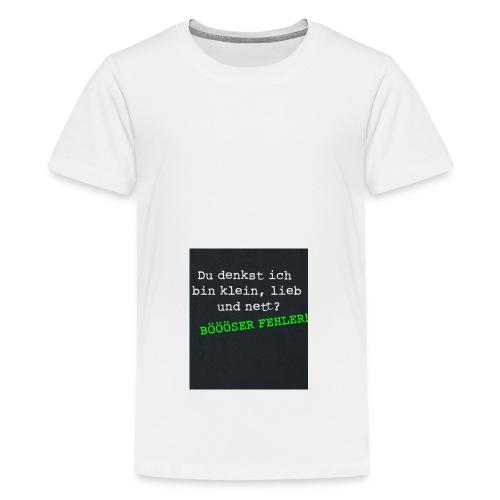 7FA3501C C455 441F 8832 CE7796C2CCF4 - Teenager Premium T-Shirt
