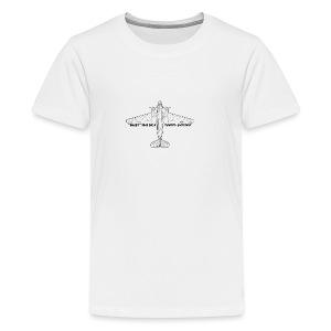 Daisy Blueprint Top 1 - Premium-T-shirt tonåring