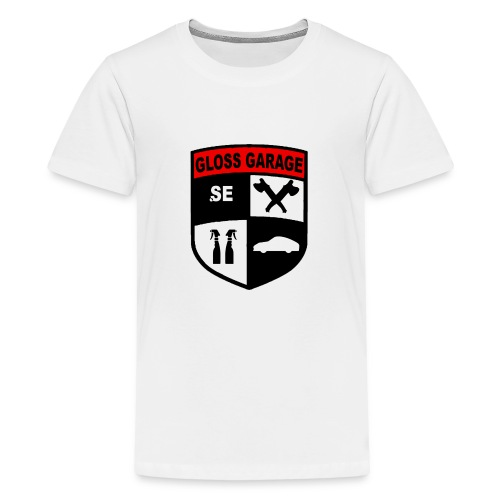 glossgarage.se - Premium-T-shirt tonåring