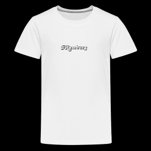 #Hamburg - Teenager Premium T-Shirt