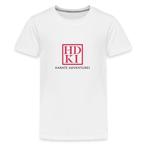 Karate Adventures HDKI - Teenage Premium T-Shirt