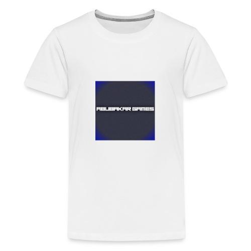 backgrounder 6 - Teenage Premium T-Shirt