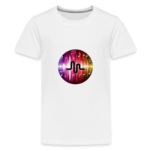 721689d187bfa32e18df03a312f6f053 musical ly tips - Teenager Premium T-shirt