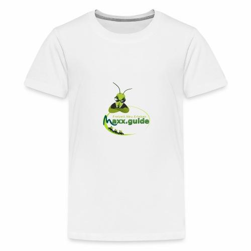 Freizeit.Neu.Erleben mit maxx.guide! - Teenager Premium T-Shirt