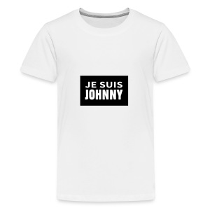 Je suis Johnny - T-shirt Premium Ado