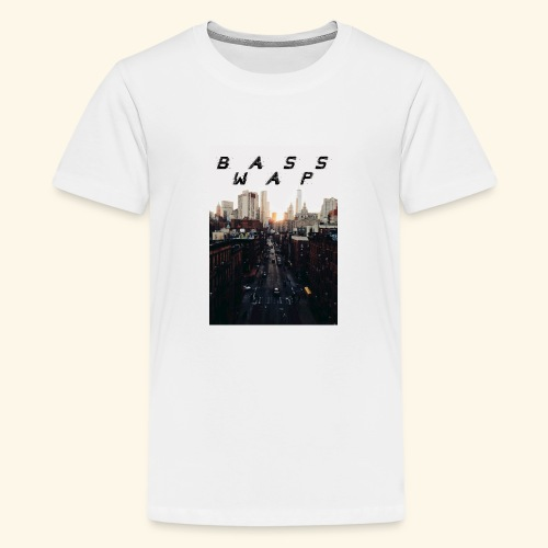 B A S S W A P - Teenage Premium T-Shirt