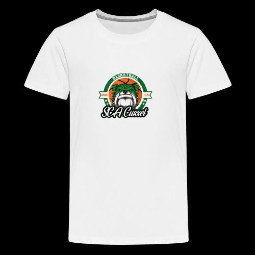 SCA Cusset Basket - T-shirt Premium Ado