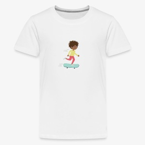 Skateboarder - Teenager Premium T-Shirt