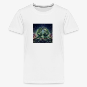 VA Breathing Earth cover front - Teenage Premium T-Shirt