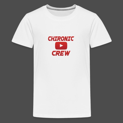 Chironic Crew Red - Teenager Premium T-shirt