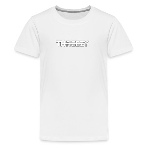 Threezy Logo - Teenager Premium T-Shirt