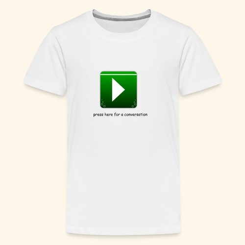 press here - Teenager Premium T-Shirt