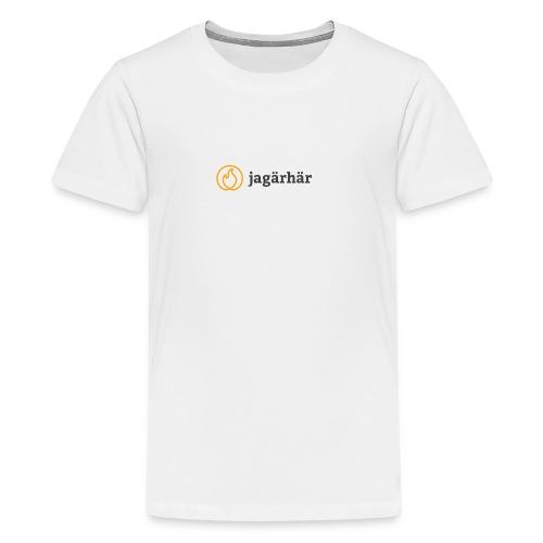 #jagärhär - Premium-T-shirt tonåring
